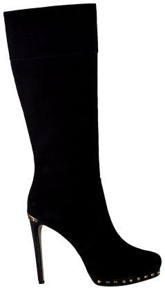 Zwarte Michael Kors Lange laarzen AILEE TALL BOOT