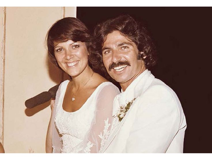 Wedding with Robert Kardashian, 1978. Photo courtesy of oprah.com