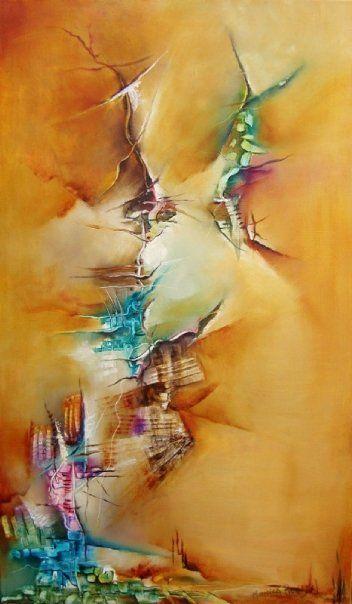 """""""Equilibrio"""" - Monica Renedo - Oleo sobre tela www.esencialismo.com"""