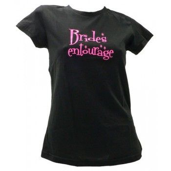 Bride's Stag and Doe Entourage T-Shirt $9.99