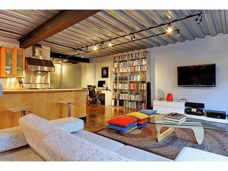 galvanized sheet metal ceiling - Google Search