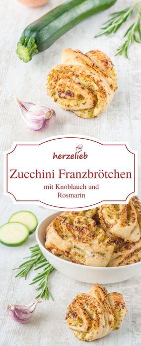 Zucchini Rezepte: Leckeres Zucchini Brot als Beilage zum Grillen. Das Rezept ist schnell und einfach gemacht.