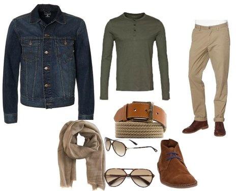 What to wear your jean jacket with// Quoi porter avec la veste de jean by acoolguy