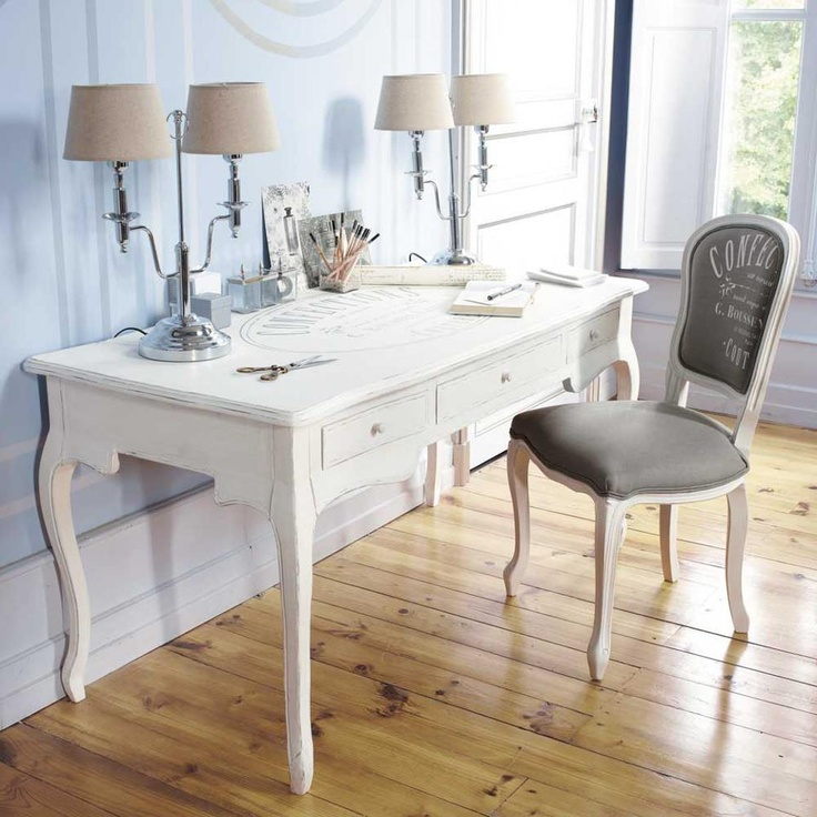 french country desk chair