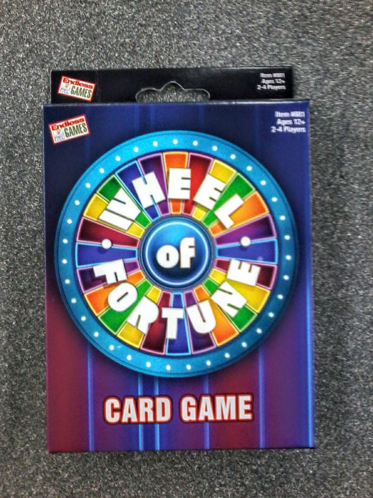 Wheel of fortune card game fortune cards card games