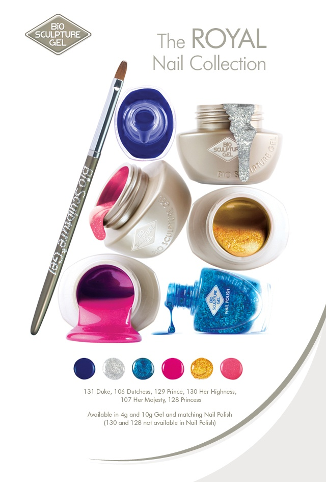 Bio Sculpture Gel introduces the Royal Nail Collection for Spring/Summer 2012