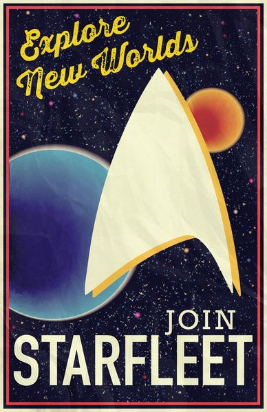 Star Trek: Join Starfleet Art Print