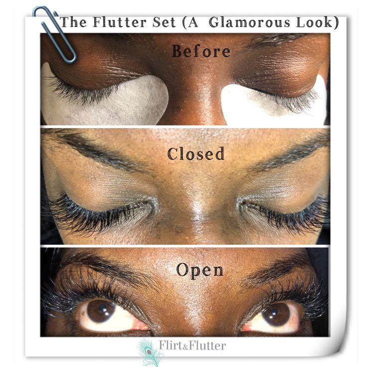 Pin by Flirt & Flutter Beauty on Eyelash Extension