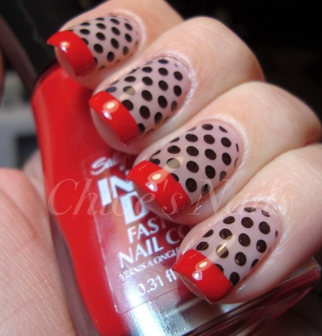 50's nail...hmmm...maybe for a fun night out : )