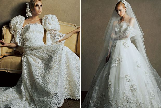 Haute Couture Japanese Wedding Dresses - Yumi Katsura | OMG I'm Getting Married UK Wedding Blog | UK Wedding Design and Inspiration for the fabulous and fashion forward bride to be.