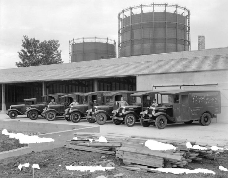 1934 - Crystal Dairy Fleet: 1803 Commercial Drive