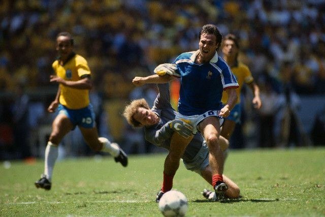 Bruno Bellone coupe du monde 1986 France bresil