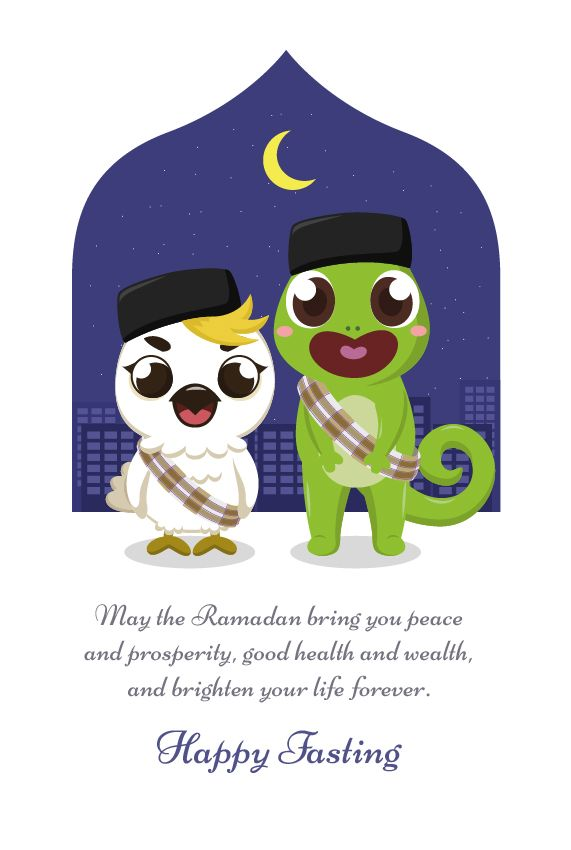 May the Ramadan bring you peace and prosperity, good health and wealth, and brighten your life forever.  Selamat berpuasa teman-teman Boci :)