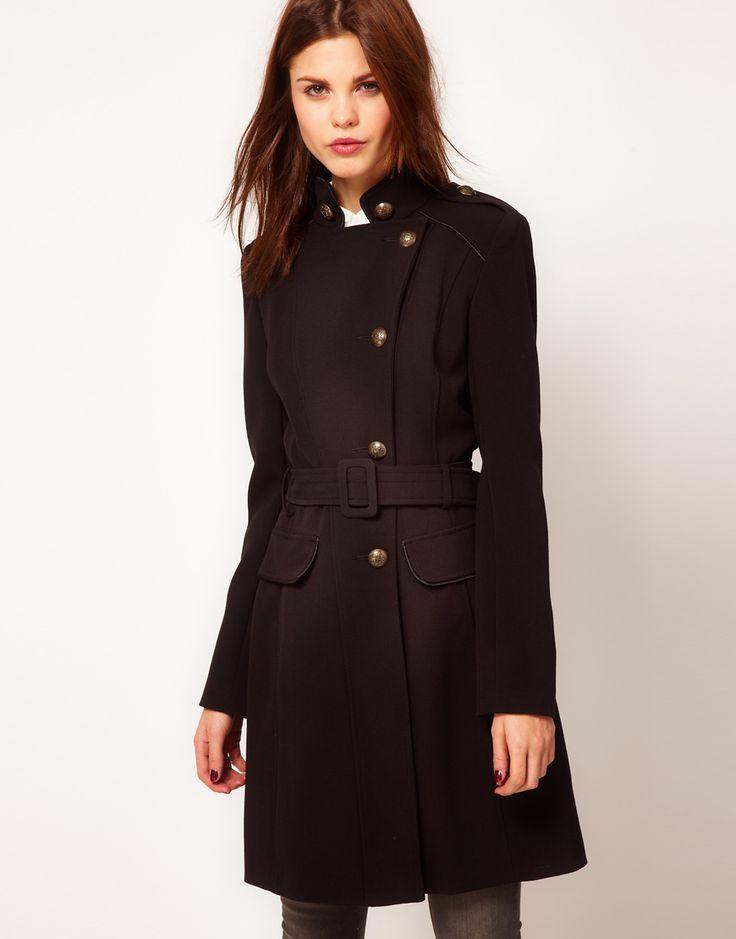 ++ warehouse military coat