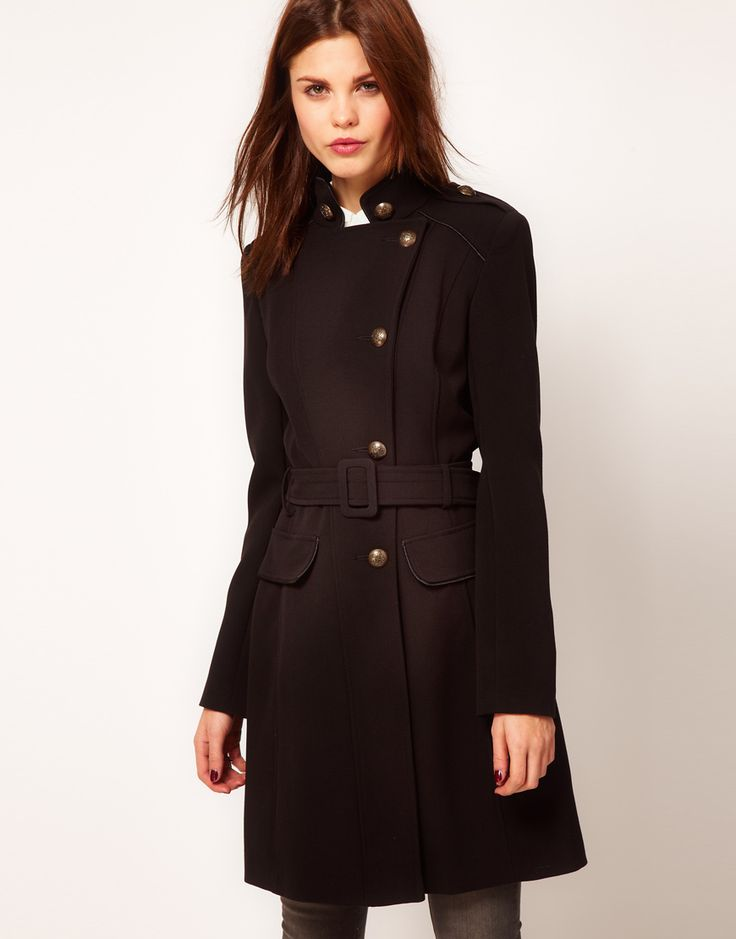 ++ warehouse military coat