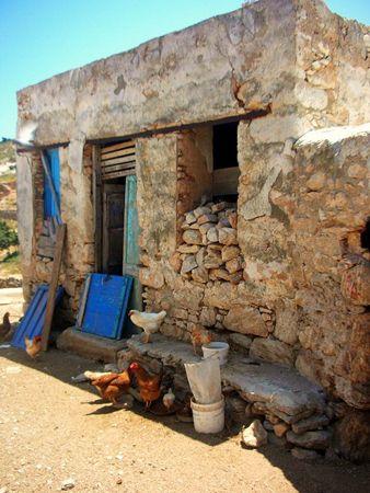 Kalotaritissa village Donoussa island Cyclades