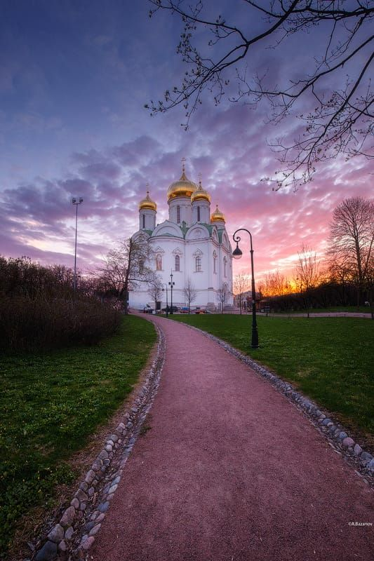 Екатерининский собор в Пушкине. by Andrej Bazanov on 500px
