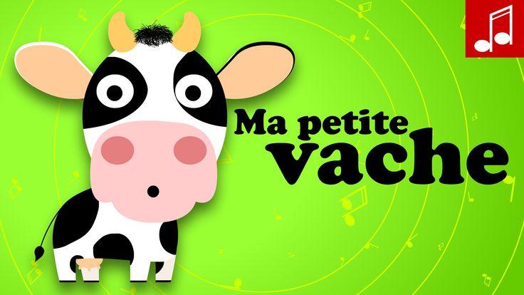 Ma petite vache, apprendre à compter en s'amusant, comptine pour bébé, Ma petite vache est une chanson françaises pour enfant. Sur notre chaîne de dessins an...