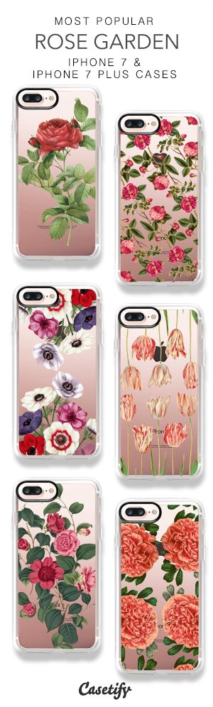 Most Popular Rose Garden iPhone 7 Cases & iPhone 7 Plus Cases here > https://www.casetify.com/heartofhearts/collection