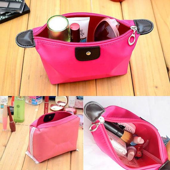 Woman cosmetic bag by DivineTouches on Etsy $3.99