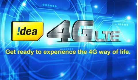 Idea Covers 10 Telecom Circles with its World Class 4G LTE Services