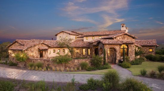Architecture Mediterranean House Plans Traditional Home