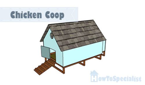 1000 images about free chicken coop plans on pinterest for Simple chicken coop plans for 6 chickens