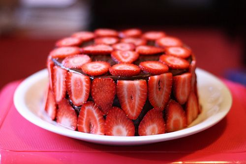 I want strawberries season!