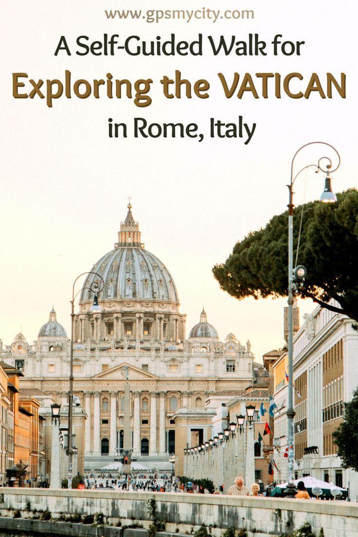 CITY WALK VATICAN WALKING TOUR ROME ITALY