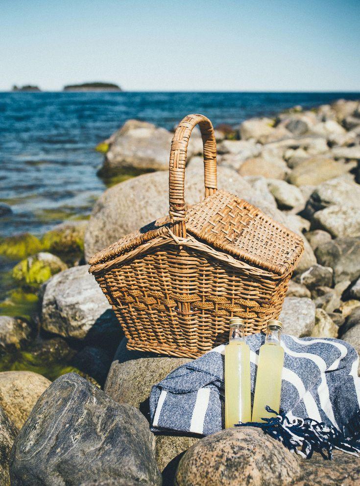 Picnic / Picknick vid havet - Evelinas Ekologiska