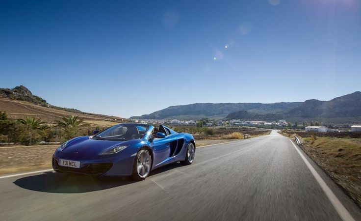 2013 McLaren MP4 12C Spider   Photo Gallery Of First Drive Review From Car  And