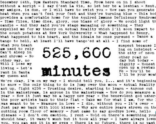 Youtube song 525 600 minutes