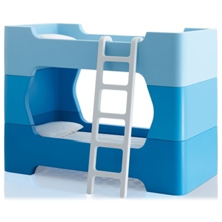 Bunky - module pour lits superposés - bleu