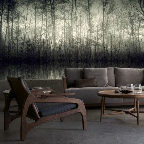 :: WALLS :: excellent value - love this Morning Mist Mural, Available in 2 sizes: (12' wide x 8.5' high) or (16' wide x 10.5' high) Price $495.00 #walls