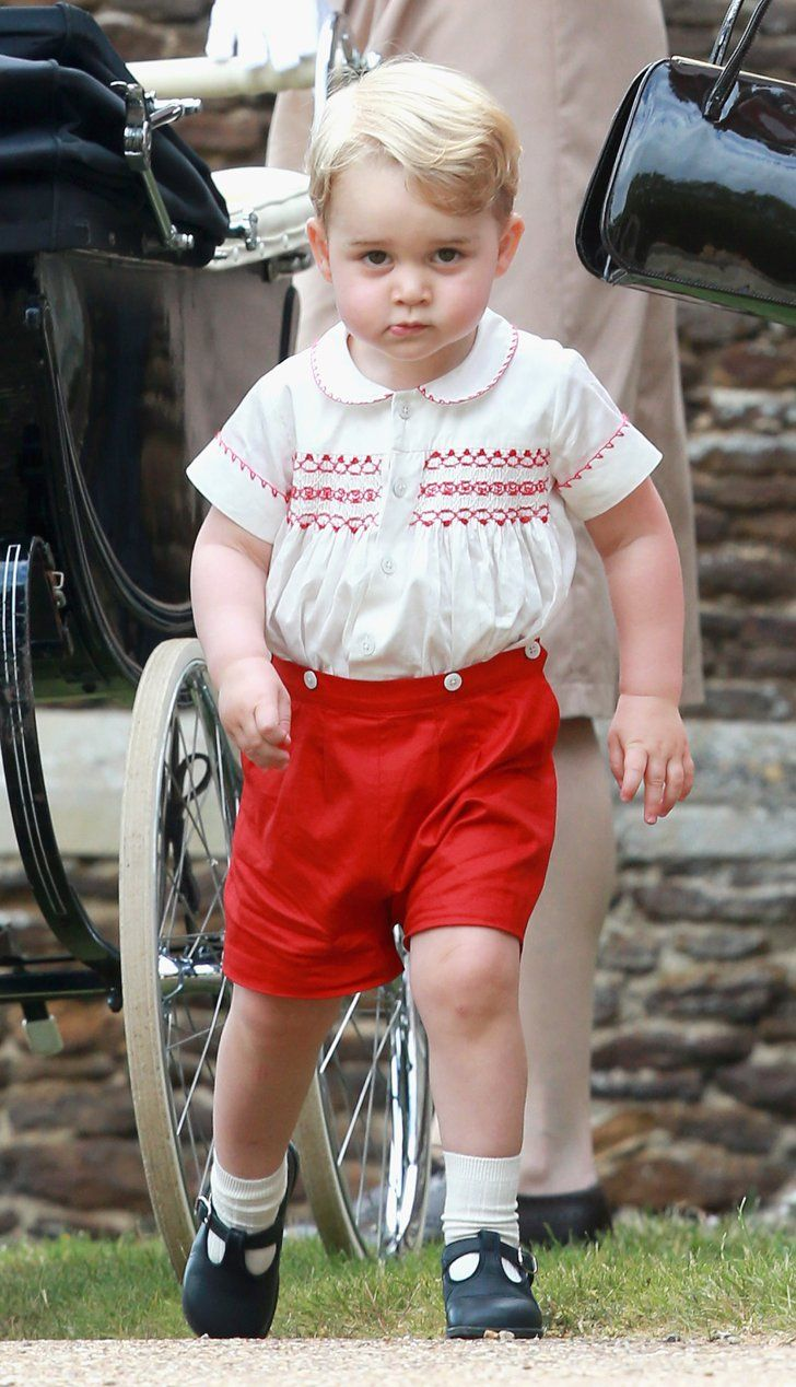 Pin for Later: 53 Photos du Prince George Toutes Plus Adorables les Unes Que les Autres
