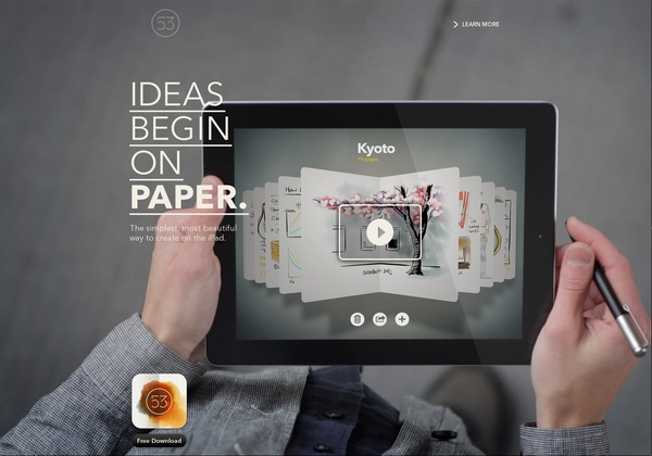 Ideas begin in Paper (ipad) http://www.fiftythree.com via @url2pin