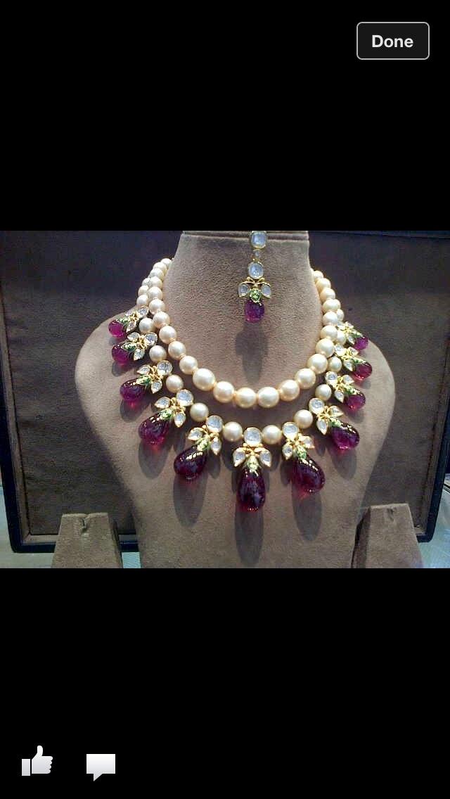 Polki pearls