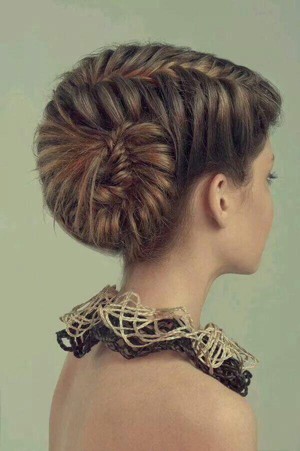 This look like a sea shell braid
