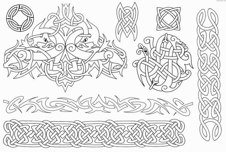Dessin Decoration Nordique