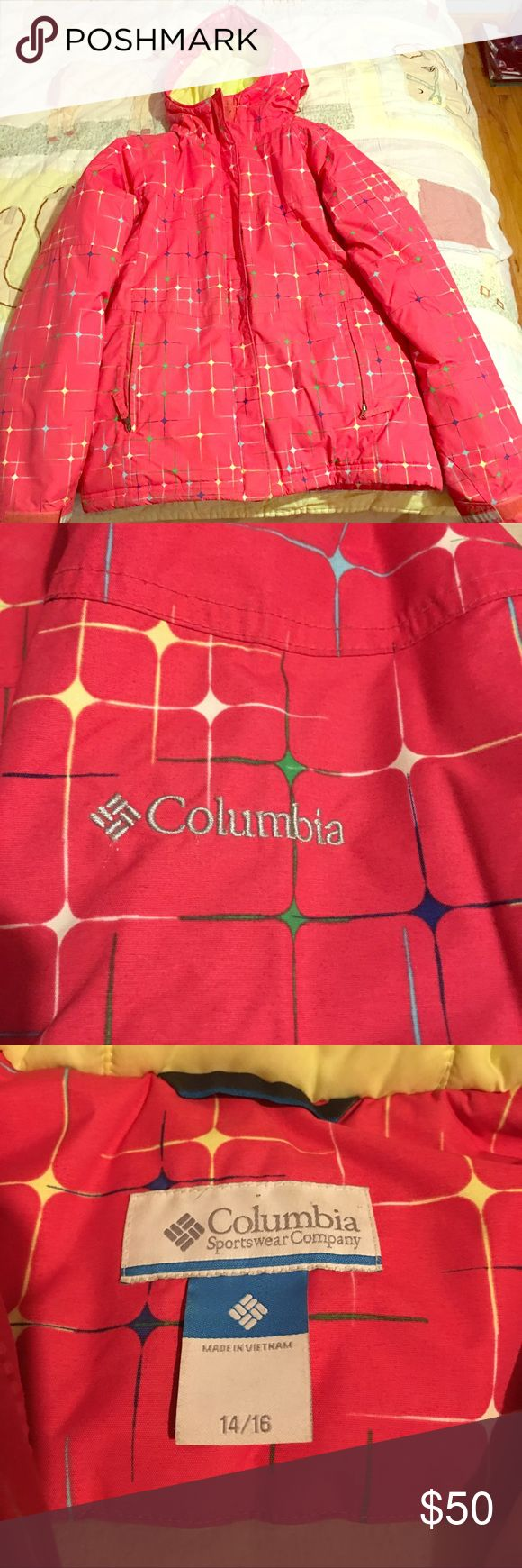Girls Columbia Coat Worn but, excellent condition. Good as new! Columbia Jackets & Coats