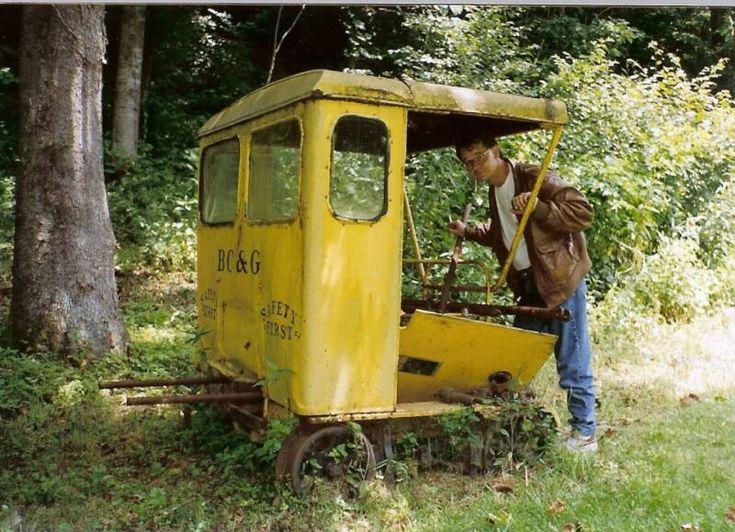 Railroad Speeder Cars