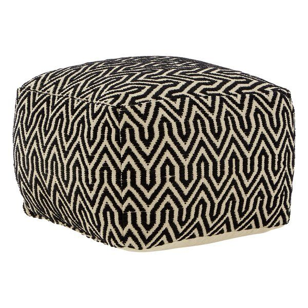 World Menagerie Adam Arrow Pouffe Wayfair Co Uk Pouffe Geometric Furniture Ottoman