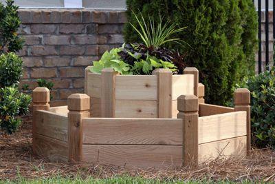 HEXAGON RAISED GARDEN BED - for herbs