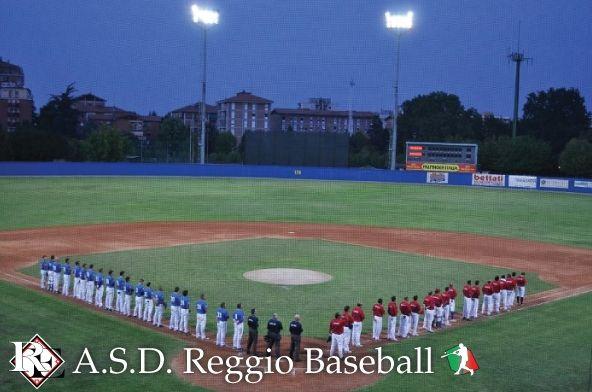 Giorgio Caselli Stadium. Reggio, Italy. Home of Reggio Emilia