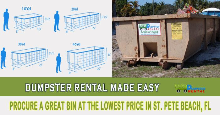 Dumpster Rental St Pete Beach Fl Instant Savings 15 Off 10 30 Yd Dumpster Rental Dumpster Dumpster Service