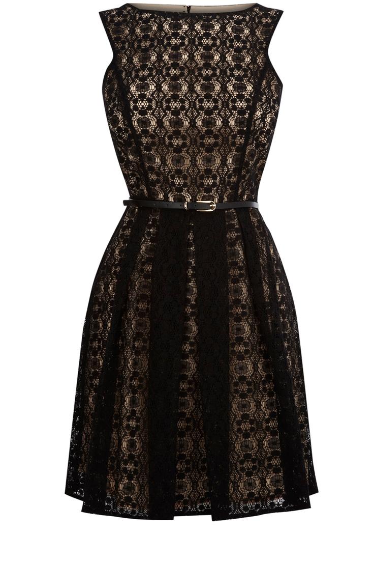 Super cute dress: Fashion Style, Style Inspiration, Dresses, Black Laces, Lace Cut, Black Dress, Oasis, Cut Outs