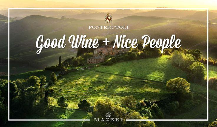 "Fonterutoli. Nice People + Good Wine - ""Castello di Fonterutoli, the heart and soul of the Marchesi Mazzei story"". @marchesimazzei  #marchesimazzei #fonterutoli  #wine #tuscany #winestyle #winetasting #winelovers"