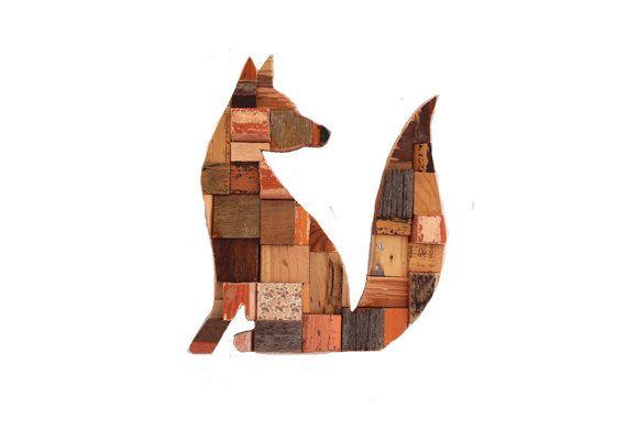 Fox Blocks by PhilosophieBySophie on Etsy
