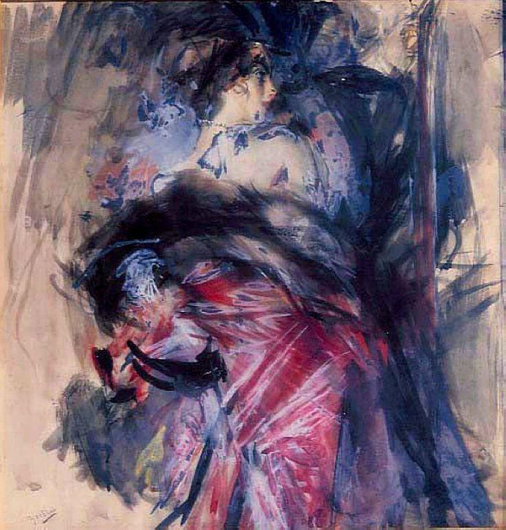 Scene Galante, 1920. Giovanni Boldini