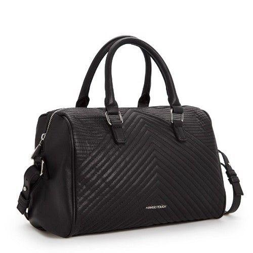 "@cs.ordersis's photo: ""Handbag : MNG90 BLACK ""Material:  PU Leather Height:  24cm Length:  29cm Depth:  12cm Bag Mouth:  Zipper Long Strap:  Yes Weight:  500g"" Rp208,000  #handbag #bag #tas #ordersis"""